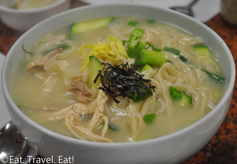 Ma Dang Gook Soo- Los Angeles (Koreatown), CA: Handmade Noodles (Chicken)