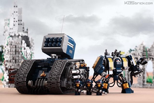 Warhammer 50K: Main Model Built
