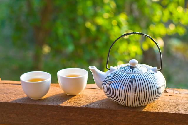 Chá na Varanda