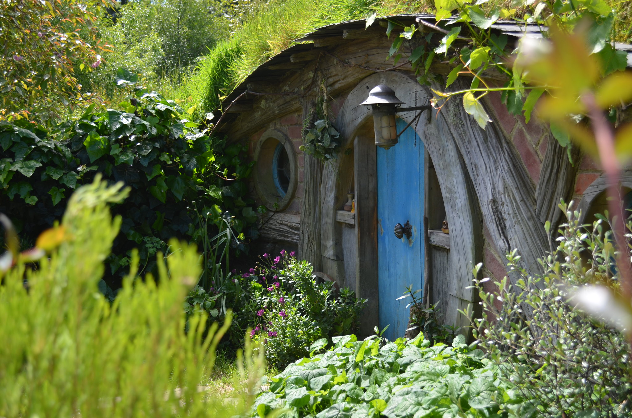 Hobbiton - blue door