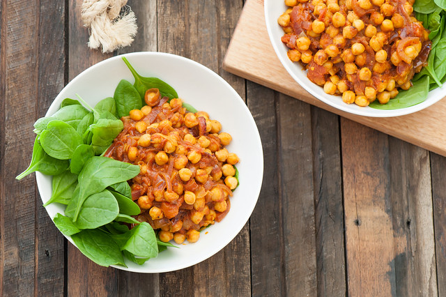 Quick Chickpea Curry-2
