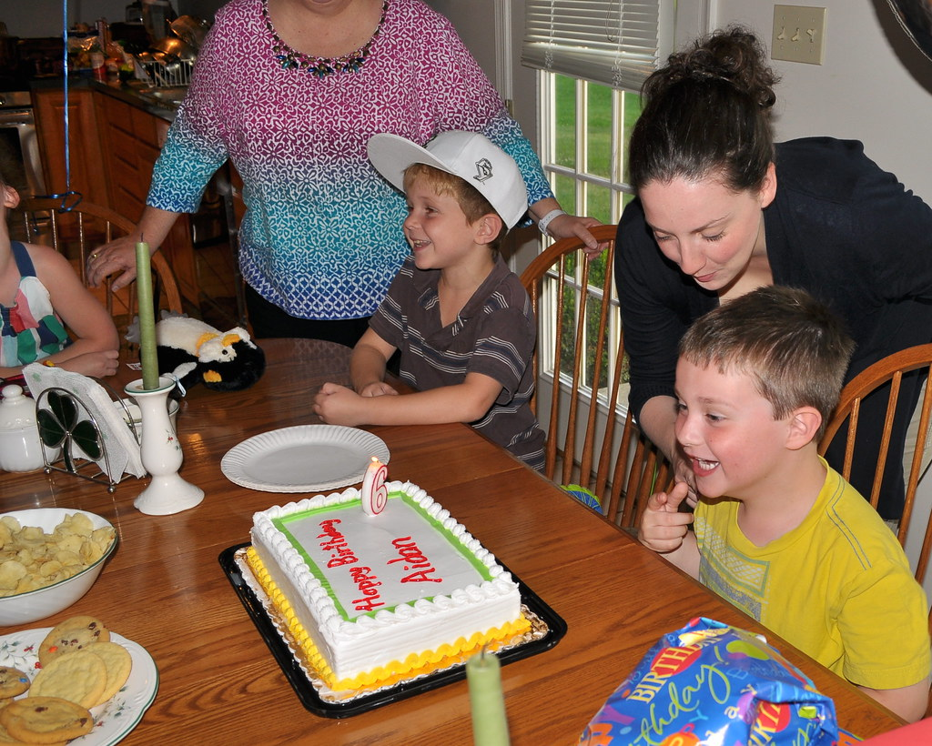 Aidan's Sixth Birthday