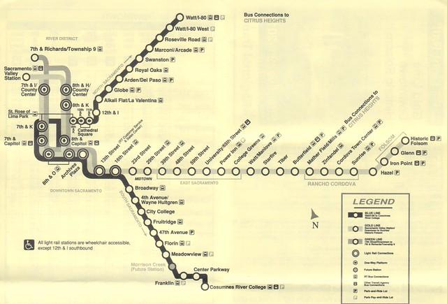 RT Light Rail 2015 Map