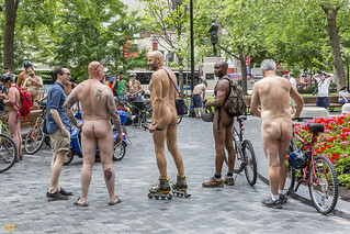 world naked bike ride montreal 31 | by Eva Blue