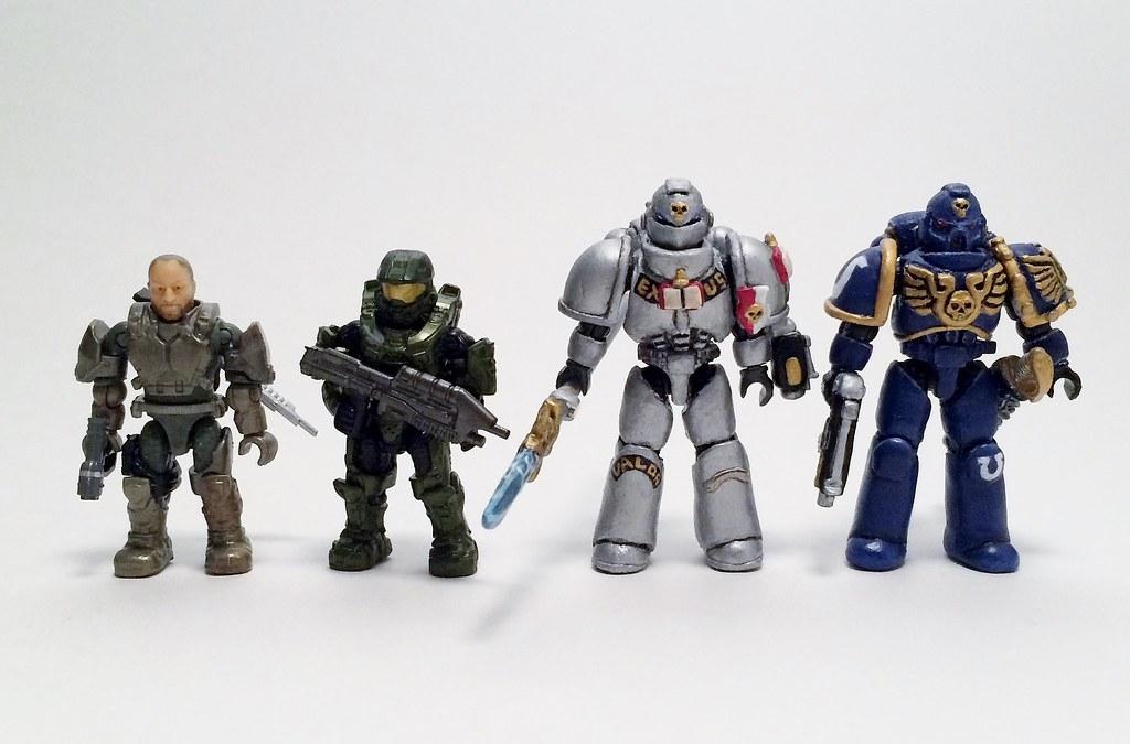 40k Space Marine Action Figures