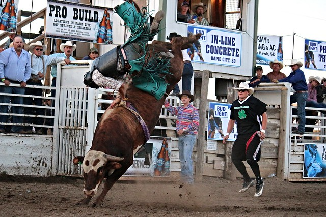 Custer County Classic Bull Riding 2016
