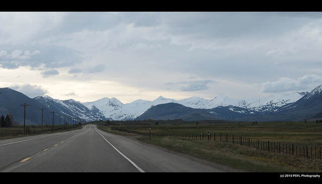 On the way to Crested Butte
