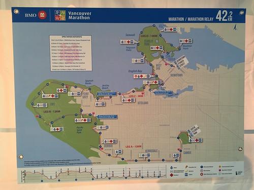 Vancouver marathon course