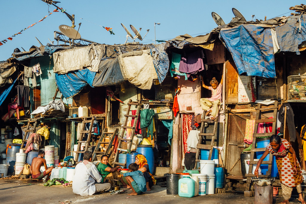 Slums, Mumbai | A tour of India would be incomplete with