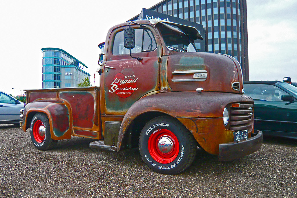 Ford F-5 cab over engine (C.O.E.) 1951 (1180893) | 1951 Ford… | Flickr