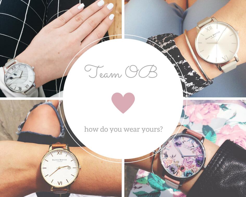 Team Olivia Burton wristshot how do you wear your watch