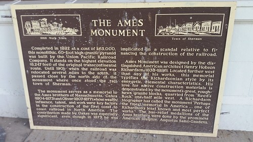 Ames Monument Sign