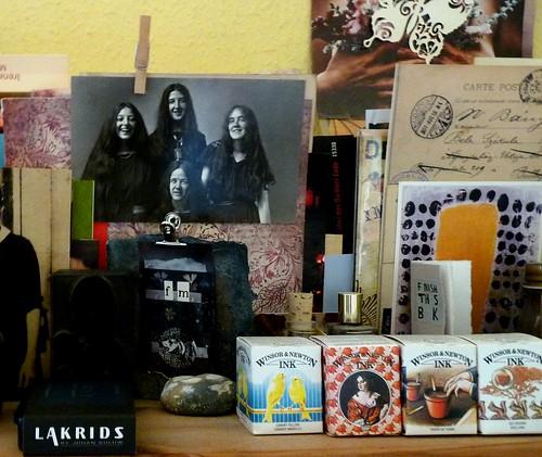 Four sisters on my shelf