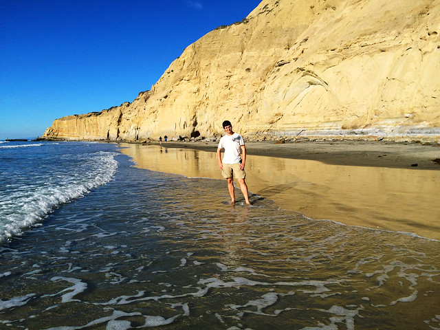 Torrey Pines Beach, California, USA