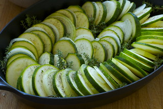 courgette-onion gratin | by the james kitchen