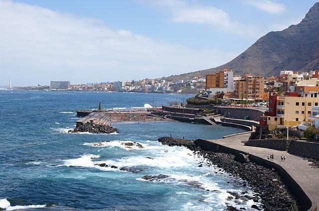 Promenade, Bajamar, Tenerife
