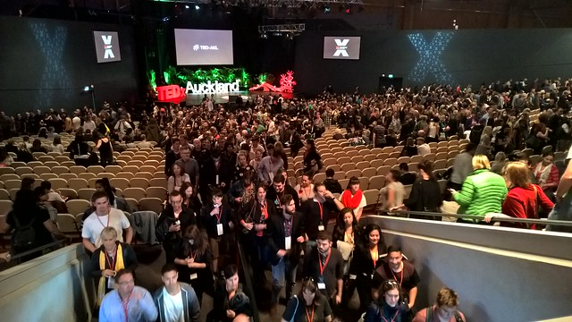 TEDx Auckland 2015 session 1 ends