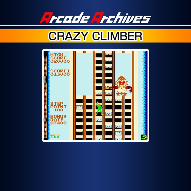 Arcade Archives Crazy Climber