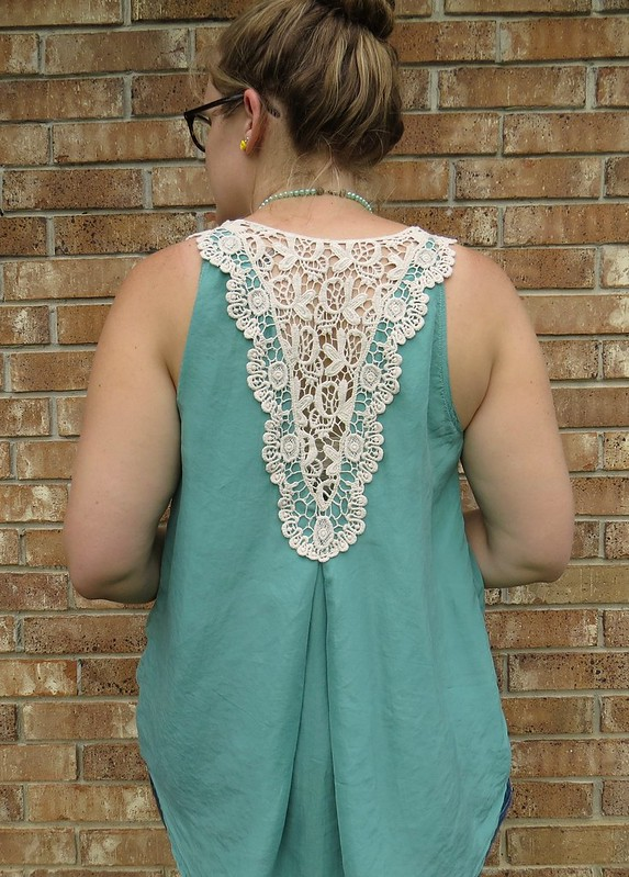 Silk and Lace Blouse - After
