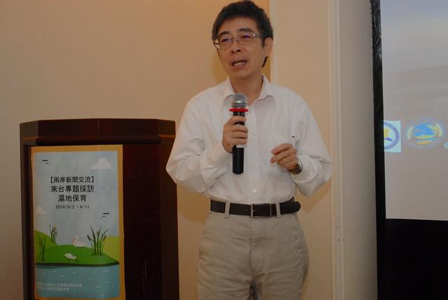 營建署城鄉發展分署署長陳繼鳴。攝影:彭瑞祥。