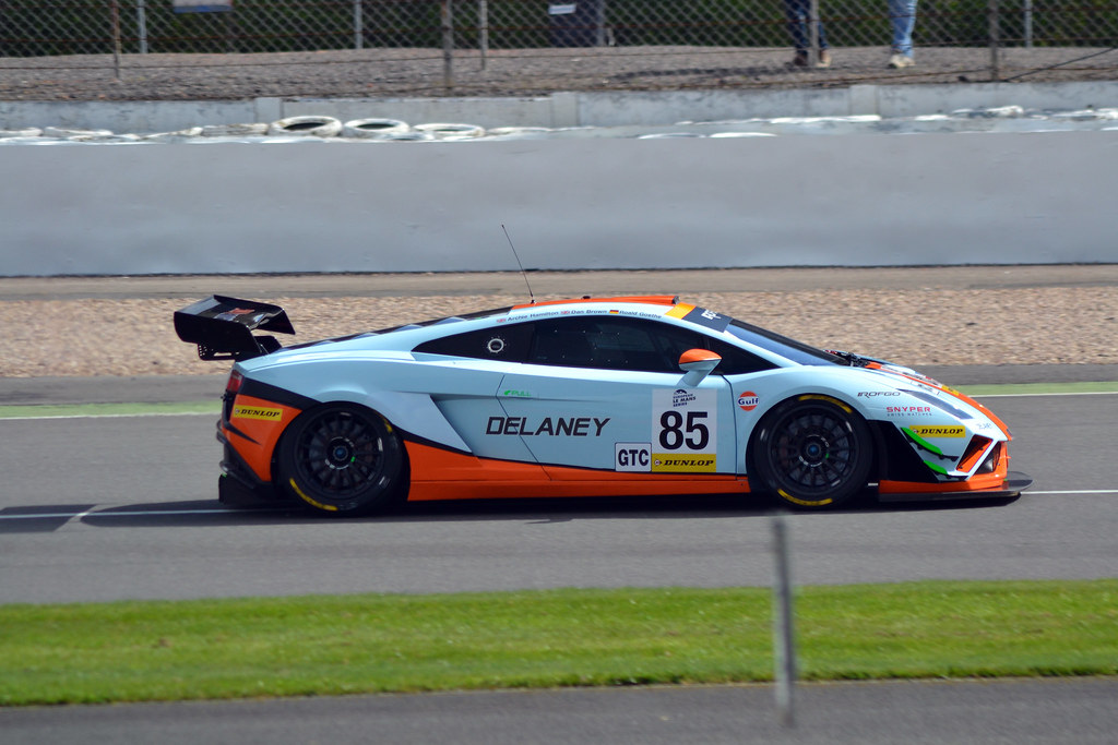 ... Gulf Racing UK GTC Lamborghini Gallardo LP560 GT3 No.85 | By Phantomwk