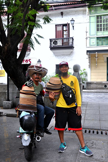 Hat Vendors in Intramuros