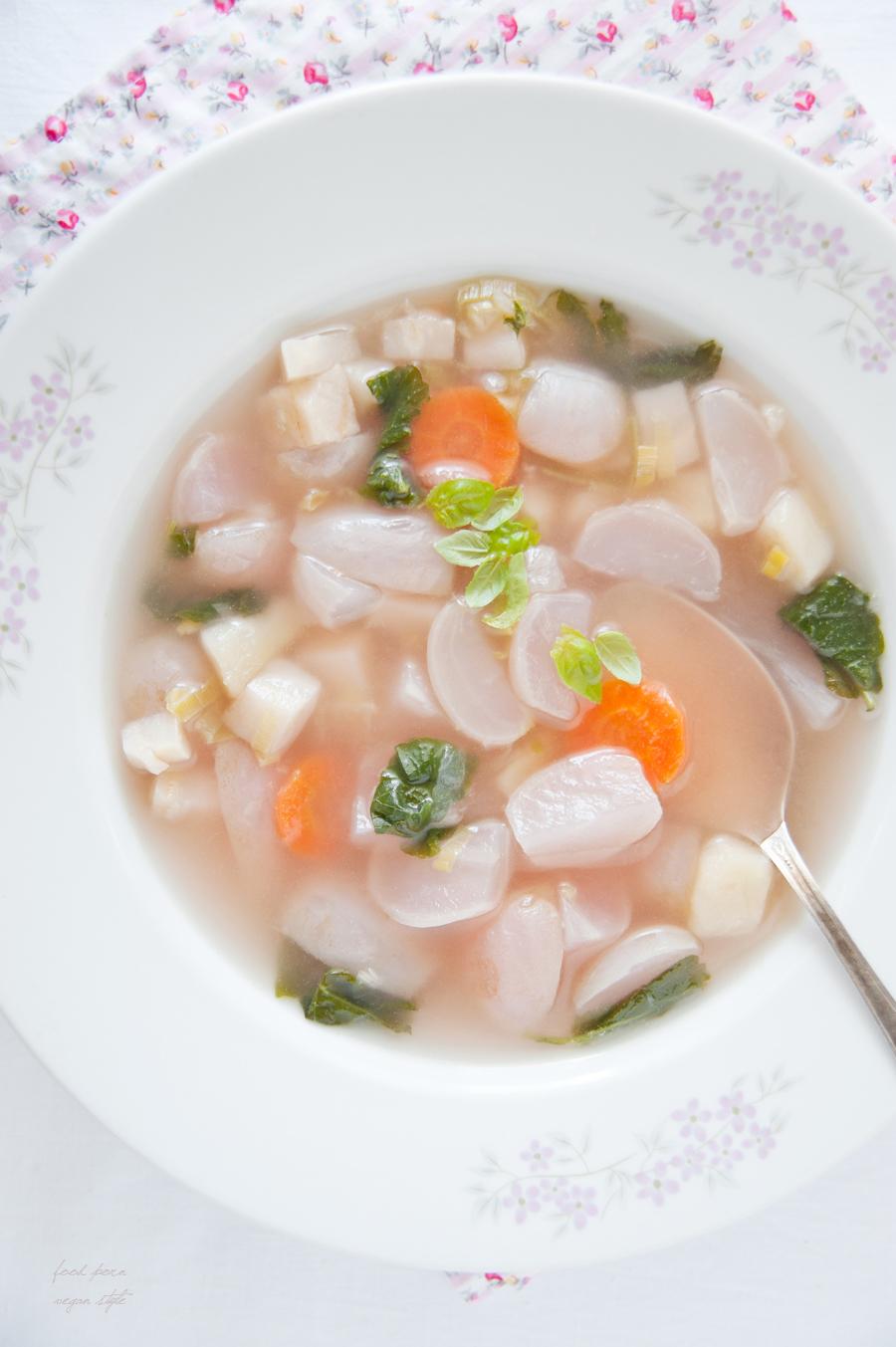 Radish soup
