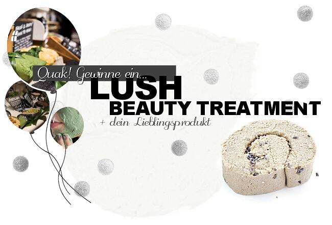 LUSH Beauty Treatment, Lush Gesichtsberatung, Lush Beratung, Lush Gewinnspiel