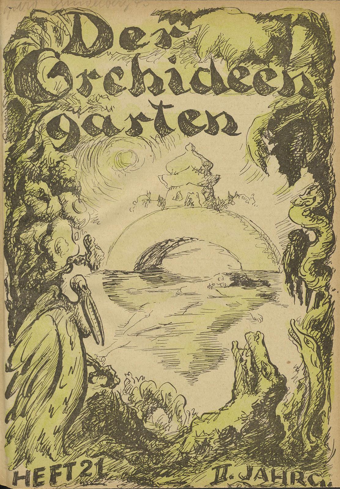 Der Orchideengarten - 1920 (Cover 20)