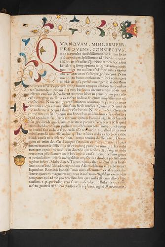 Excised and replaced decoration in Cicero, Marcus Tullius: Orationes