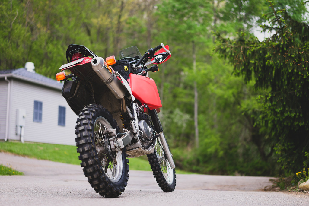 2015 Honda Xr650L >> Honda XR650L | with new Dunlop D606 in the back and ...