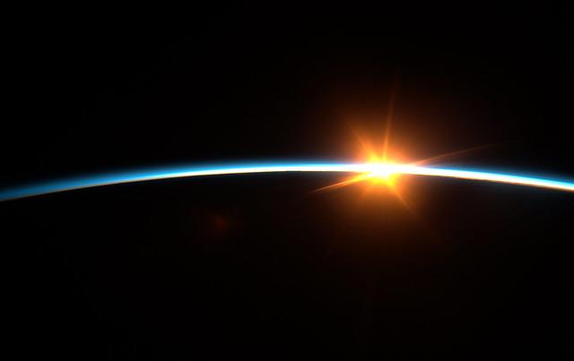 Космический Закат // Space Sunset