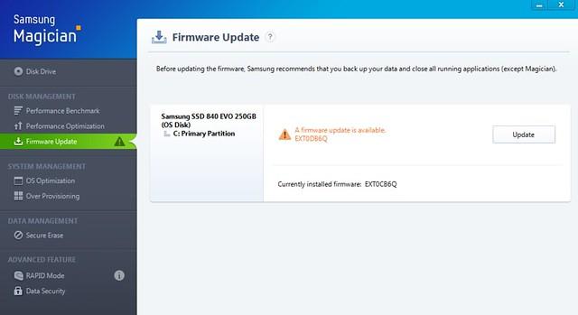 Samsung EVO 840 firmware #2