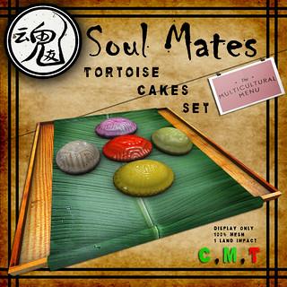 Soul Mates Tortoise Cakes Set Ad