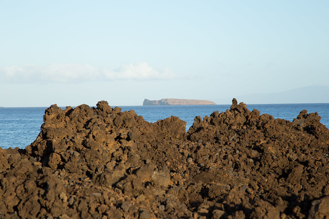 Molokini from Ahini Kinau Volcanic Rocks