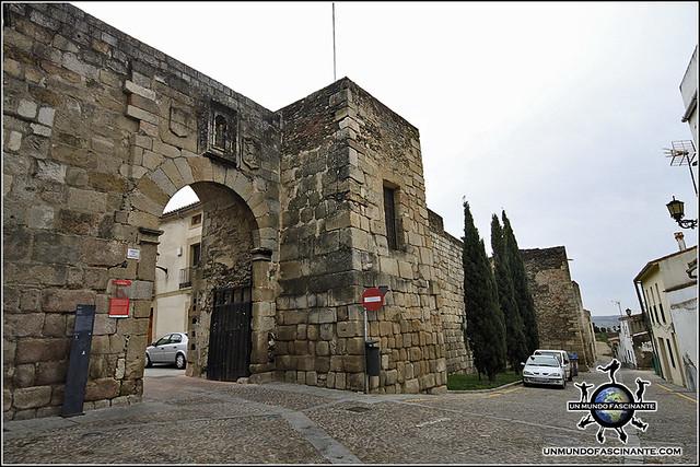 Muralla de Coria, Cáceres, Extremadura. España. Spain