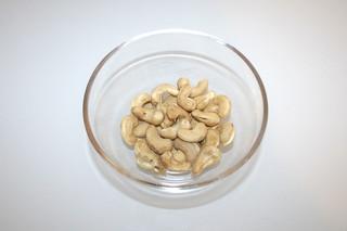 07 - Zutat Cashewnüsse / Ingredient cashew nuts