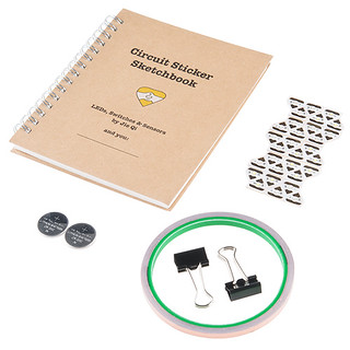Chibitronics Circuit Stickers - Starter Kit | by SparkFunElectronics