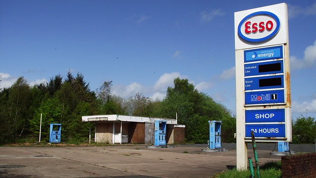 this petrol station is no more, it has ceased to be 01