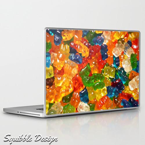 gummy_bear_laptop_skin_squibble_design