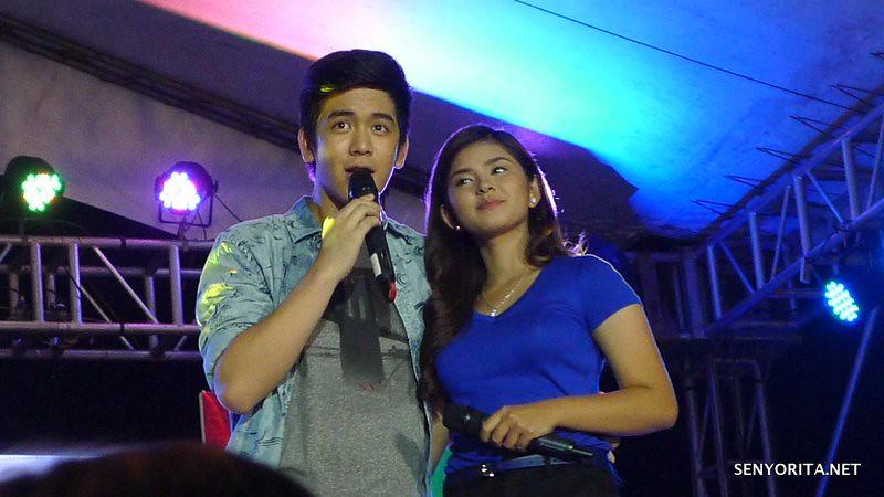 Joshua Garcia and Loisa Andalio - Kapamilya Karavan in Dagupan City - Bangus Festival 2015