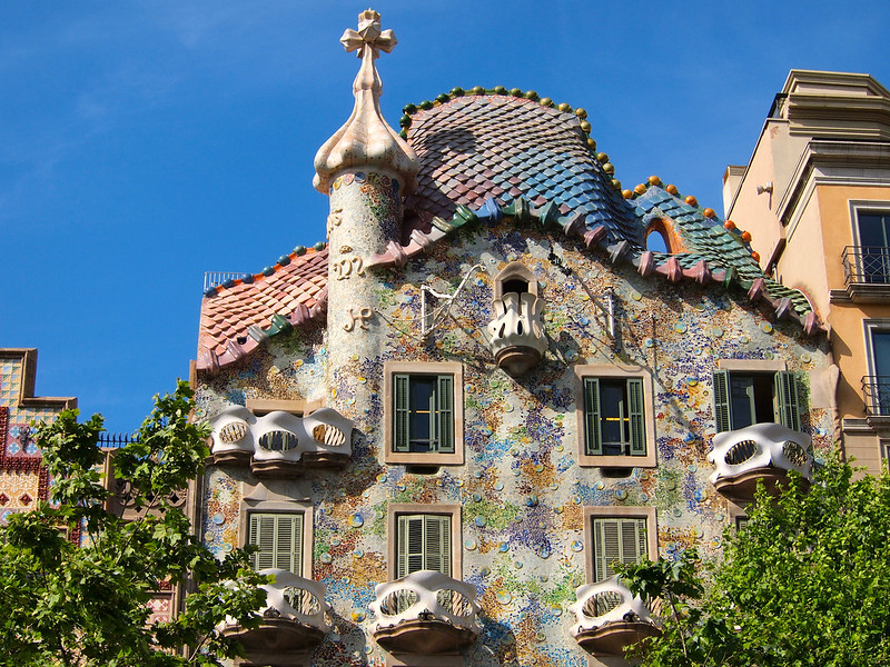 The Architecture of Antoni Gaudi in Barcelona