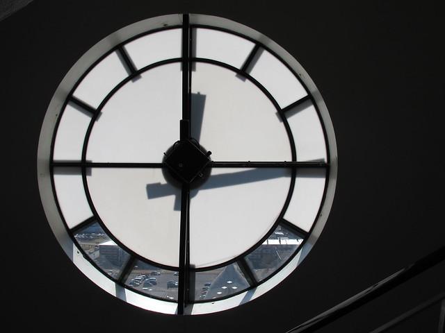 2015.05 - Hallgrímskirkja - Clock