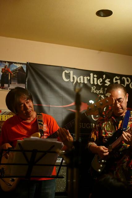 ファンク・オールスターズ荻窪 live at Charlie's Spot, Tokyo, 30 May 2015. 090