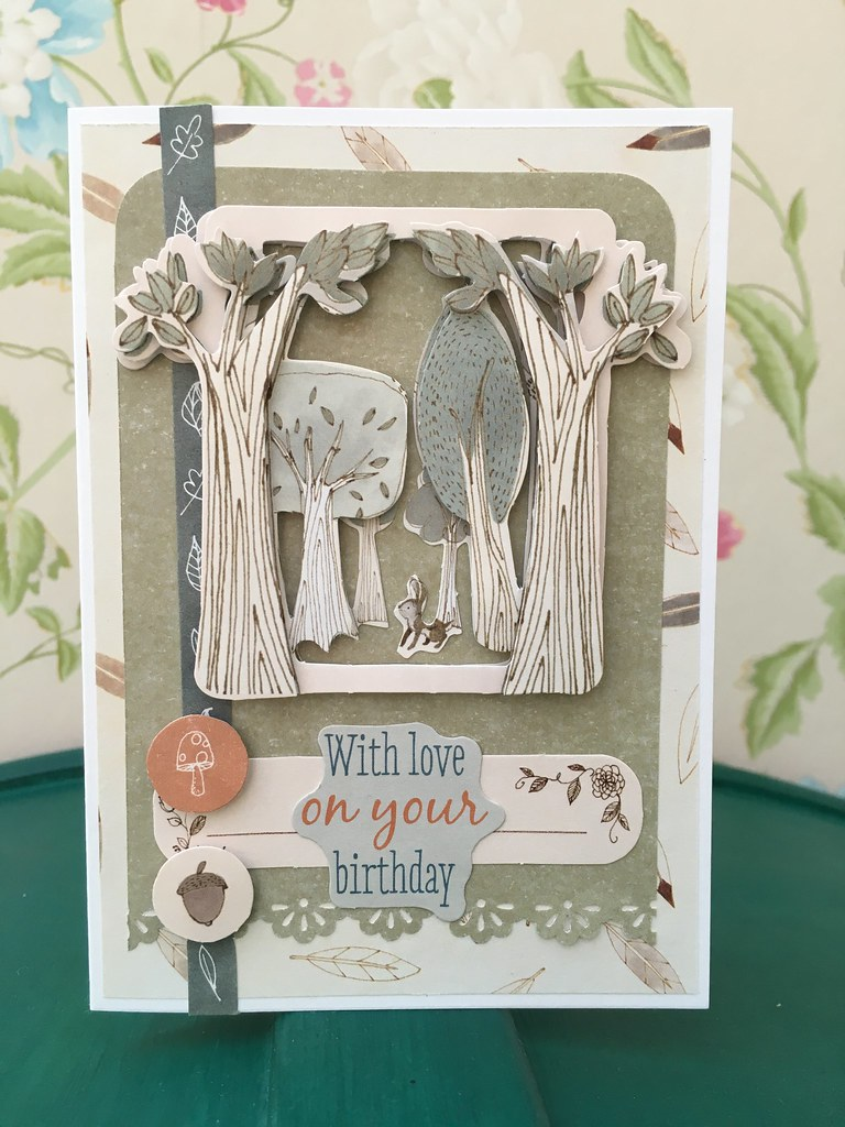 Tales from Willson Wood woodlands card by StickerKitten