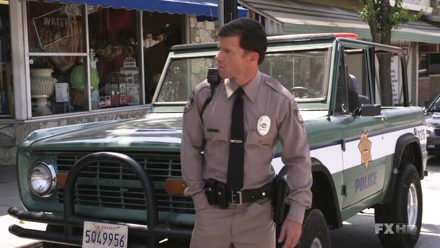 1976 Ford Bronco Police Car - Sons Of Anarchy