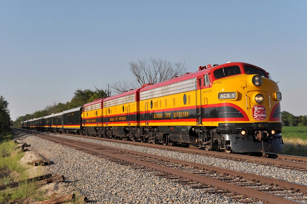Kansas City Southern Office Car Special Drexel MO | On a ...