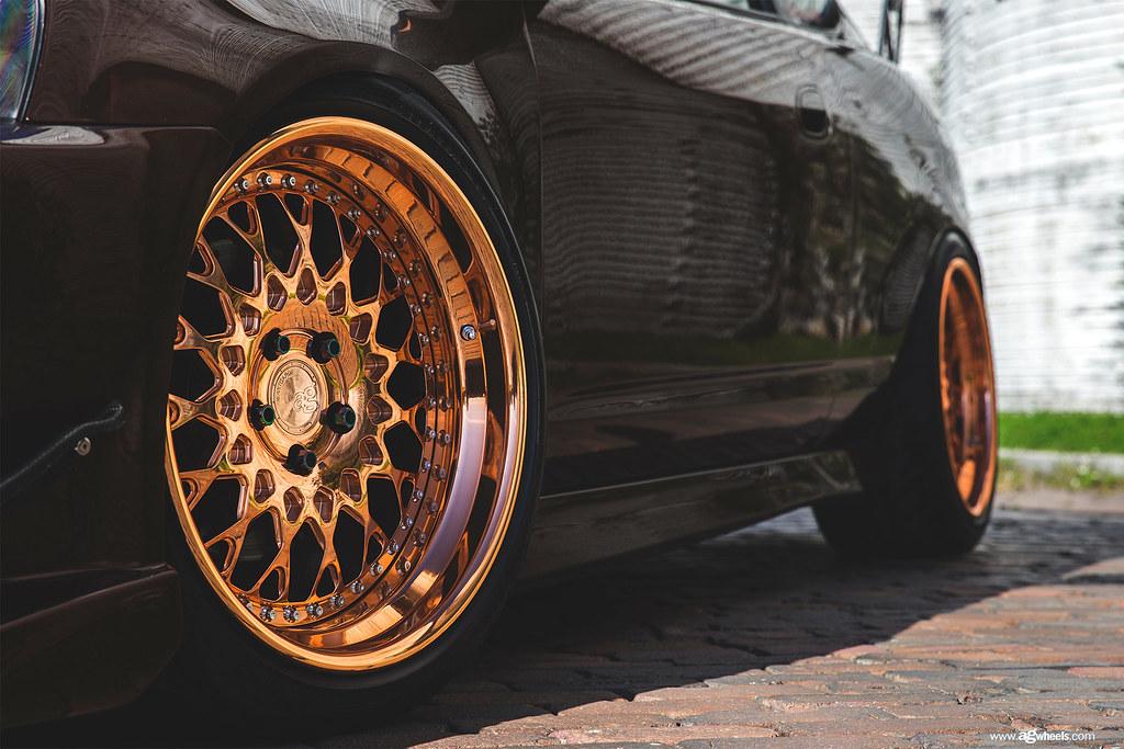 F141 Polished Copper Acura Rsx Wheel Avant Garde Wheels
