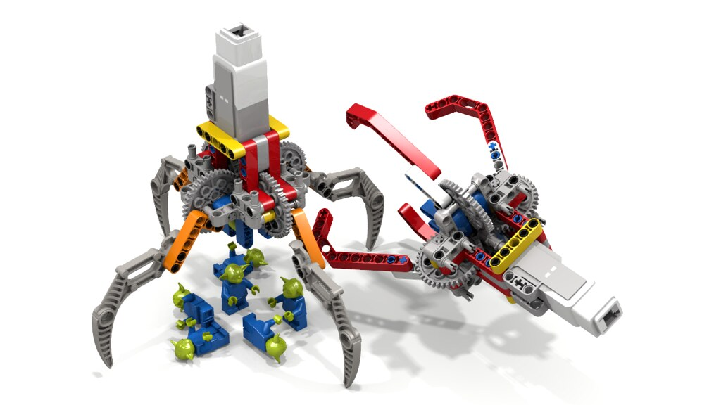 Lego Claw / Grabber Options | This Lego Technic Claw / Grabb… | Flickr