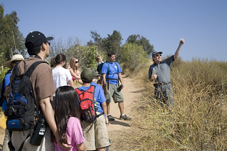 Hikers with Naturalist | by SaveCoyoteHills